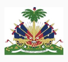 Haiti coat of Arms Baby Tee