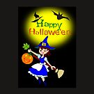 Halloween  Card (4253 Views) by aldona
