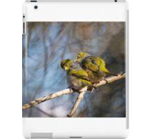 silvereye Cecil Hoskins Reserve iPad Case/Skin