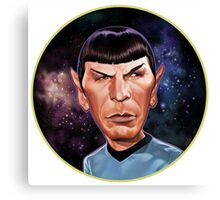 Mr. Spock Rounded Canvas Print