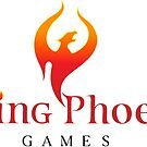Rising Phoenix Games Logo by Rodney Sloan