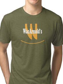 WacArnolds T-Shirt (version 2) Tri-blend T-Shirt