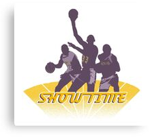 Lakers - Showtime! Canvas Print