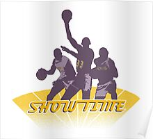 Lakers - Showtime! Poster