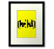 The Bat Framed Print