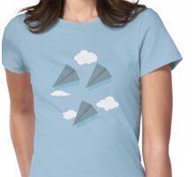 Paper Airplane 67 Womens Fitted T-Shirt