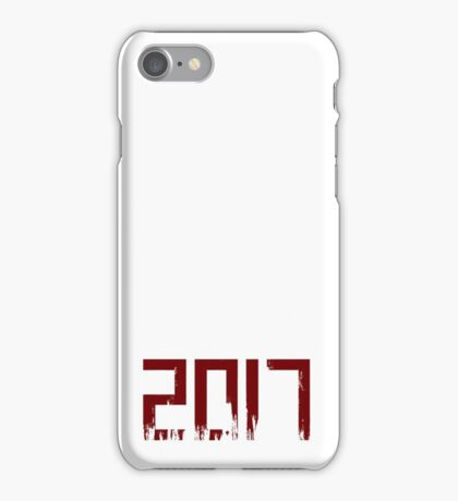 2017 bloody iPhone Case/Skin