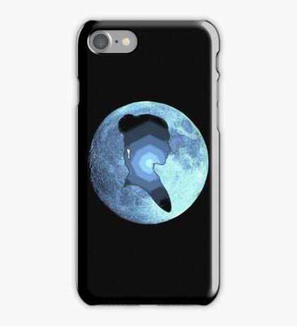 Princess Leia moon iPhone Case/Skin