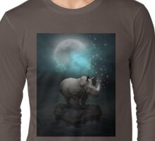 Power Is No Blessing In Itself v.2 (Protect the Rhino)  Long Sleeve T-Shirt