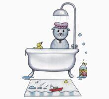 mim don't do baths Kids Clothes