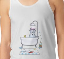 mim don't do baths Tank Top