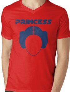 Star Wars Princess Leia Carrie Fisher Mens V-Neck T-Shirt