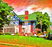 Glick Mansion  by LianeWright