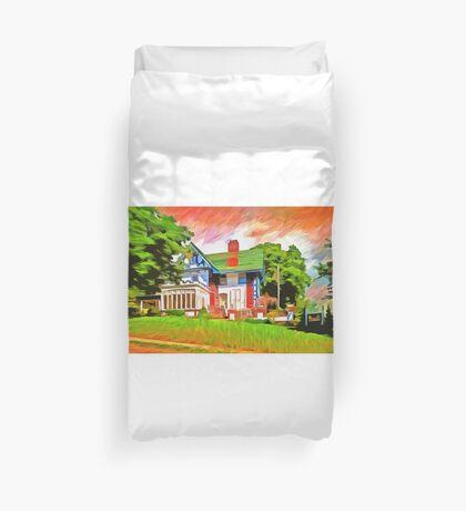Glick Mansion  Duvet Cover