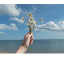 Flowers at sea Sticker