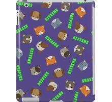 Puppies vs Kittens - Print iPad Case/Skin