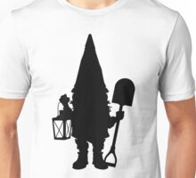 Gnome in Silhouette  Unisex T-Shirt