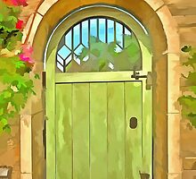 Green Gate  by LianeWright