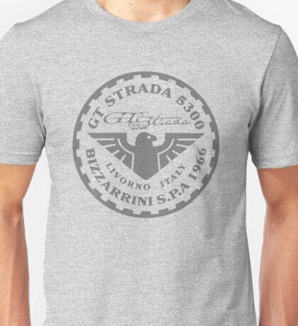 5300 GT STRADA Bizzarrini S.p.A Dark Faded Logo Unisex T-Shirt