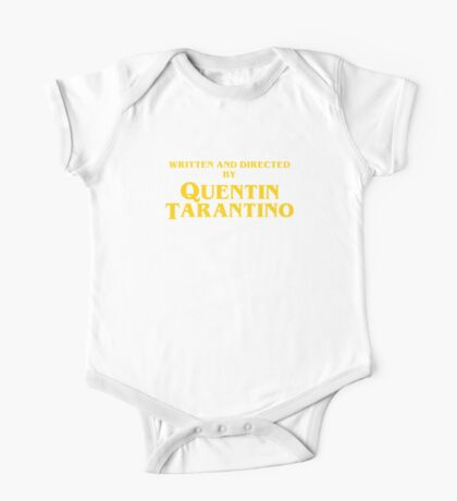 Quentin Tarantino Titles One Piece - Short Sleeve