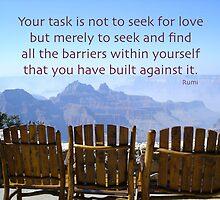 Seek Not For Love by lamplightcards