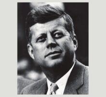 JFK - T-Shirt by Bockethead