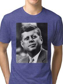 JFK - T-Shirt Tri-blend T-Shirt