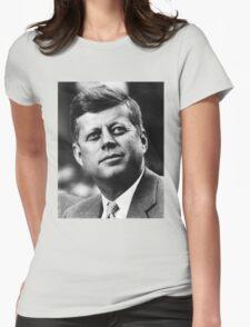 JFK - T-Shirt Womens Fitted T-Shirt