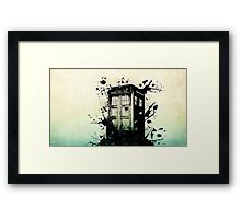 Doctor Who-The Tardis Framed Print