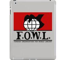F.O.W.L.  iPad Case/Skin