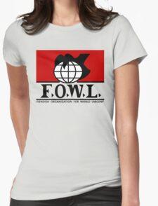 F.O.W.L.  Womens Fitted T-Shirt