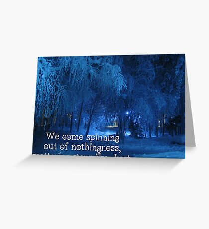 Scattered Stars Greeting Card