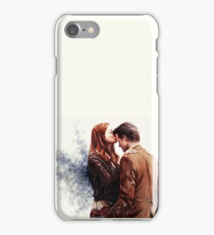 Doctor Who-Amy and The Doctor iPhone Case/Skin
