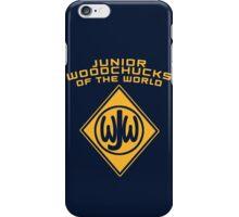 Junior Woodchucks of the World iPhone Case/Skin