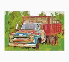 Old Chevrolet Viking Work Truck  Baby Tee