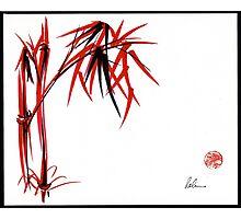 """""""Nature's Kiss"""" Original Chinese Brush Painting Photographic Print"""