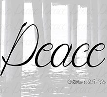 Peace (Matthew 6:25-34) by chickwiththefro