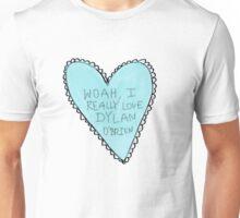 dylan o'brien heart Unisex T-Shirt