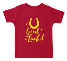 Good luck (horseshoe) Kids Tee