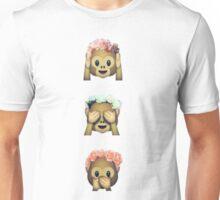 Monkey Emoji Unisex T-Shirt