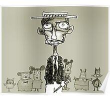 cartoonist Poster