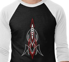 Pinstriping Men's Baseball ¾ T-Shirt