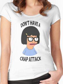 Tina Crap Attack Women's Fitted Scoop T-Shirt