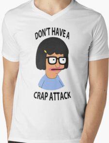 Tina Crap Attack Mens V-Neck T-Shirt