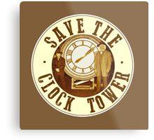 Save the clock tower Metal Print