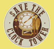 Save the clock tower Kids Clothes