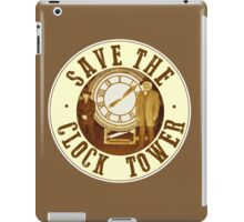 Save the clock tower iPad Case/Skin