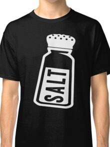 Salt \ Peppa 1/2, White Ink   Women's Best Friends Shirts, Bff Stuff, Besties, Halloween Costume, Salt And Pepper Shakers Classic T-Shirt