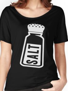 Salt \ Peppa 1/2, White Ink | Women's Best Friends Shirts, Bff Stuff, Besties, Halloween Costume, Salt And Pepper Shakers Women's Relaxed Fit T-Shirt