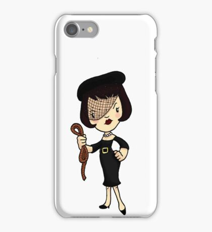 ITS A CLUE! Was it Mrs. White with the ROPE? iPhone Case/Skin
